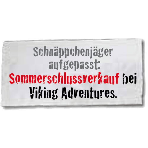 Sommer-Schuss-Verkauf bei Viking Adventures