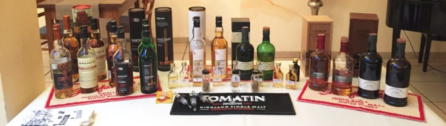 "Whiskytasting ""no classics"" mit 5-Gang Menu"
