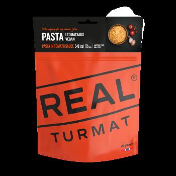 Pasta in Tomatensoße (vegan)